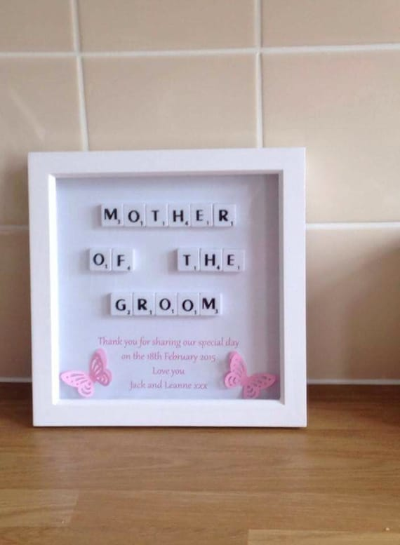 mother of the bride giftmother of the groom gift bridal party wedding favours wedding thank you presents personlaised frames - Mother Of The Bride Picture Frame
