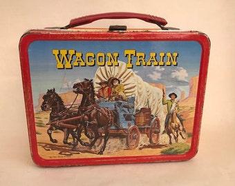 Wagon Train Lunch Box 1964 Lunchbox