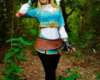 Twilight Princess from Ocarina of Time game Zelda cosplay, LoZ Breathe of the Wild clothing