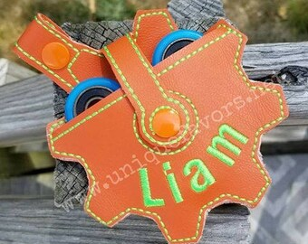Custom Fidget Spinner Case ~ Personalization Available Custom Spinner Carrying Case Many color combinations