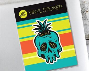 Poisoned Pineapple Vinyl Sticker