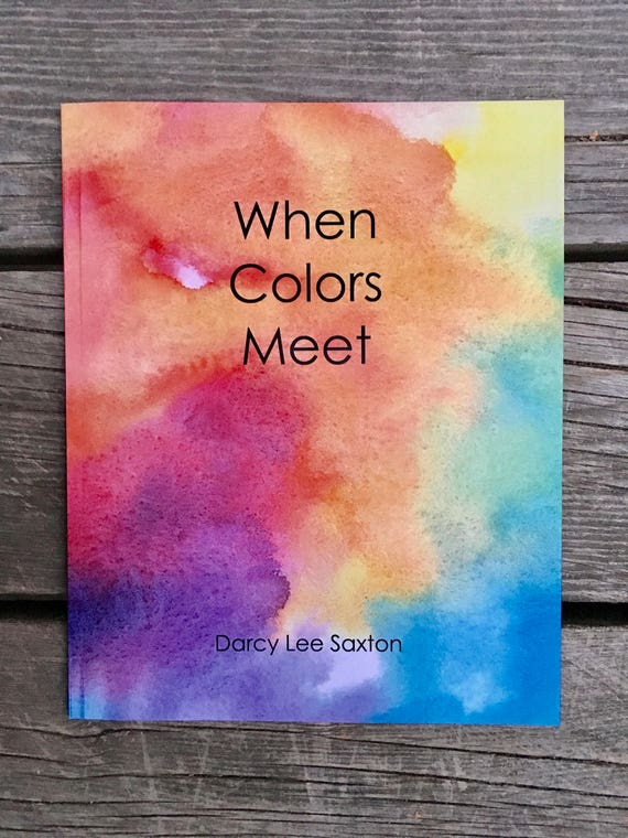 Color mixing book When Colors Meet book for young artists