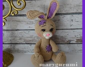 Bunny, crochet, Amigurumi plush