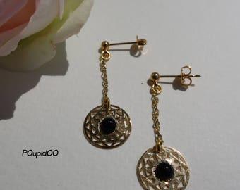 """""""Art Déco"""" earrings"""