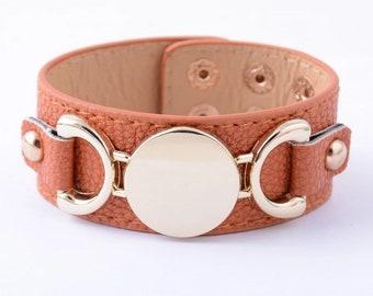 Beautiful brown cuff bracelet