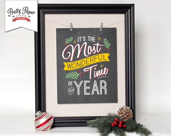 Christmas wall art instant download retro holiday print solutioingenieria Images