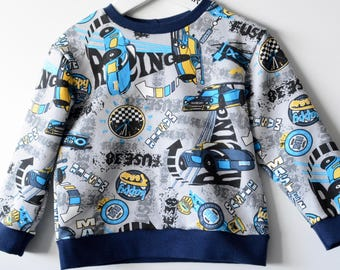 Cars boys sweatshirt top, or set with trousers
