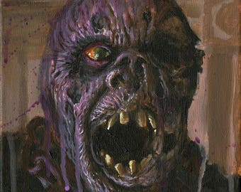"""Mask Off Jason 8""""x10"""" glossy print"""