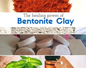 Peppermint And Bentonite Clay