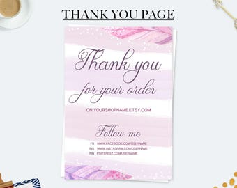Thank you for your purchase business card thank you note thank you for your order cards purchase cards marketing kit business cards expocarfo
