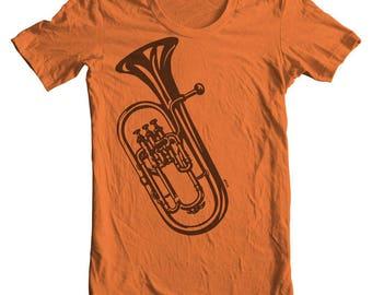 Euphonium Hoodie Euphonium Shirt Band t shirts Band tees Band Merch Gift for Euphonium player Willson 2900 High School Band Geek gifts