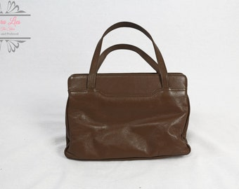 Vintage Taupe Ladies Handbag