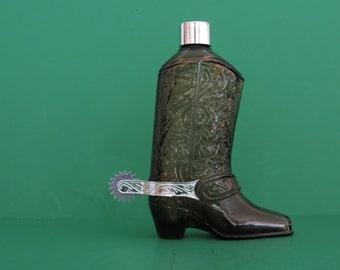 Vintage Avon Bottle Western Boot 1973-1975