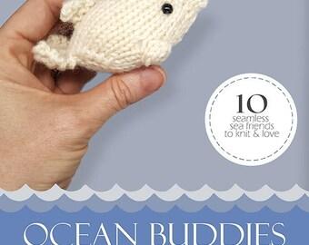 Stuffed Animal Knitting Pattern - Ocean Buddies - Knitting Pattern - Ebook Collection