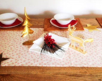 Stars Pure Cotton Table Runner