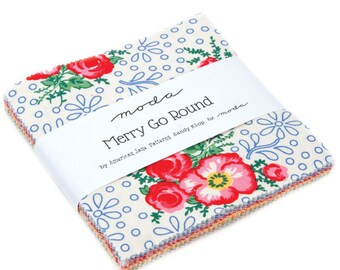 Merry Go Round Fabric - Charm Pack - American Jane - Moda