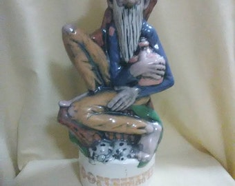 Vintage mountain man moonshine decanter. Great collector item.