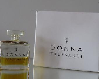 Donna by Trussardi  - half FULL - Miniature perfume bottle - Eau de Toilette Parfum-