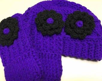 Hat & Glove Flower Set