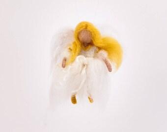 Angel, Waldorf, Doll, Needle felted, Christmas