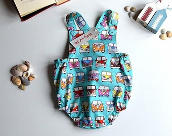 Romper in a Campervan Design Size 6-9 months