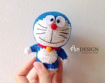 Amigurumi Doraemon Free Pattern : Handmade doraemon etsy