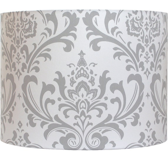 Lamp shade lampshade traditions by premier prints storm gray lamp shade lampshade traditions by premier prints storm gray grey damask made to order aloadofball Choice Image