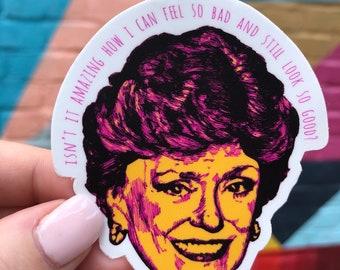 The Golden Girls  // Blanche Devereaux // Die Cut Stickers // Golden Girls Stickers // Vinyl Stickers // Sophia Rose Blanche Dorothy