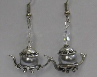 Teapot Earrings E35
