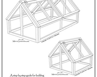 Mini- Greenhouse Plans - PDF Version