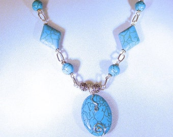 CELESTIAL TURQUOISE NECKLACE