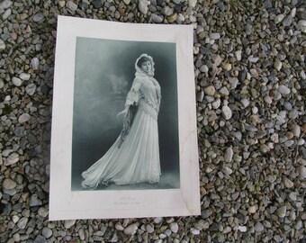 1908 Original l'art du Theatre Print