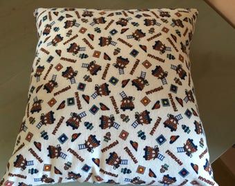 16 x 16 Pillow Cover - Fireman