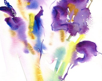 Fresh Pick No.318, limited edition of 50 fine art giclee prints from my original watercolor