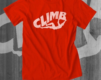 Rock Climbing Gear Rock Climbing Mountain Climbing Belay Approach Tshirt Bouldering T shirt Rock Climbing Gift Great Gift Ideas climbers