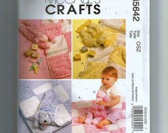 McCall's Baby Gifts Pattern 5642