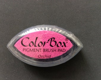 Orchid Color Box Pigment Brush Pad