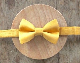 Yellow bowtie - Jean-Pierre-