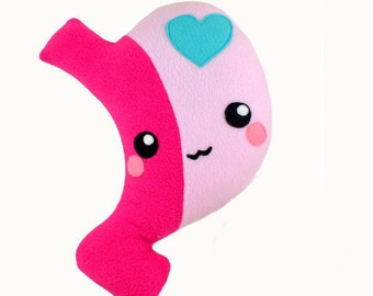 Gastric Sleeve plushie / kawaii stuffed toy organ stomach comfort pillow