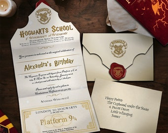 Acceptance letter for Witchcraft and Wizardry school,Harry Potter Letter Template, Harry Potter Party, Acceptance Letter Template word harry