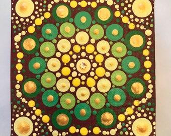 Mandala  Art - Original Painting - ID#882