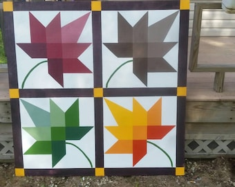 Barn quilts 4x4