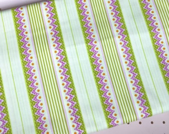 Heather Bailey for freespirit - Carousel Stripe Fabric from the Lottie Da collection