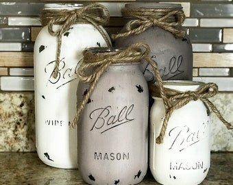 Mason Jar Kitchen Set 4pc