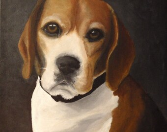 "Custom Painted Portrait of YOUR pet 12""x12"""