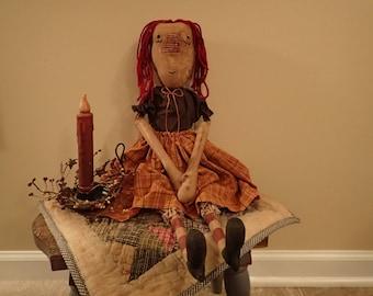 Megan Primitive Doll
