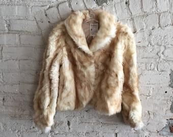 Ardney Collection suede lamb 1970s pure virgin wool boho jacket coat