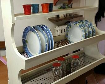 Plate white Handmade Style 90 * 70 handmade