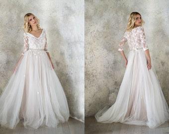 Tulle wedding dress | Etsy