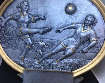 Woman's Soccer Resin